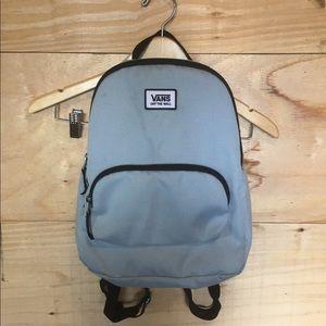 Baby blue Vans mini backpack